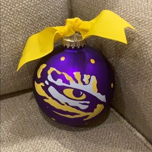 Coton Colors LSU Tiger Christmas Ornament